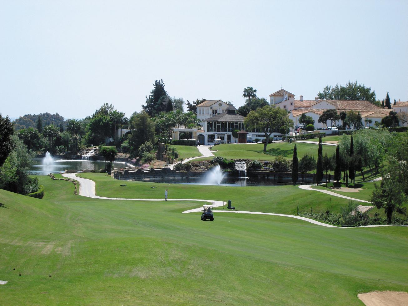 Campo de golf en Marbella