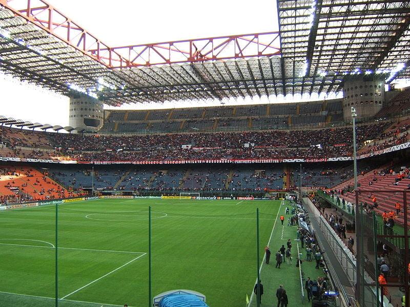 Estadio del inter de mil n estadio giuseppe meazza for Interieur u arena