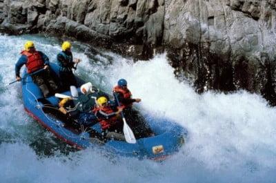 Canotaje en el Cañón del Colca