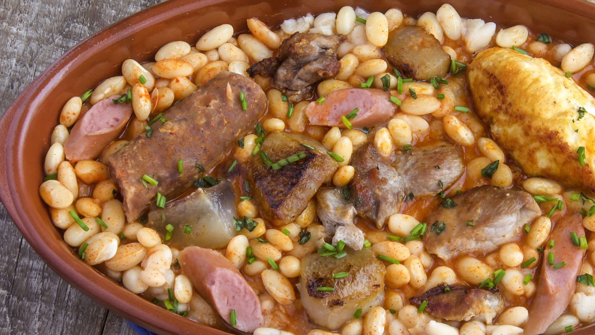 Cassoulet for Comida de francia