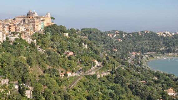 Castel Gandolfo, la residencia de verano del papa