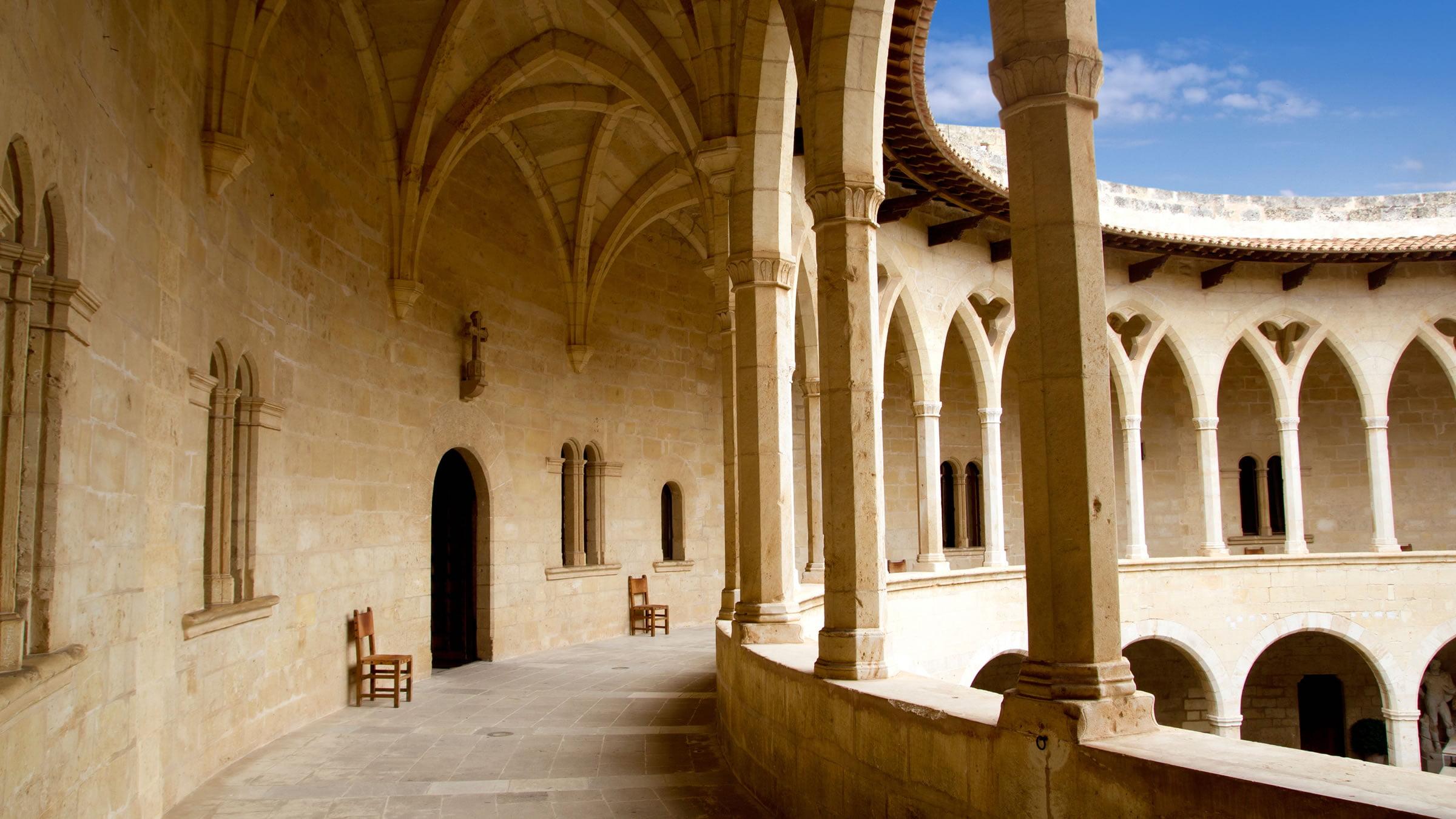 Castillo de bellver palma de mallorca espa a for Ciudades mas turisticas de espana