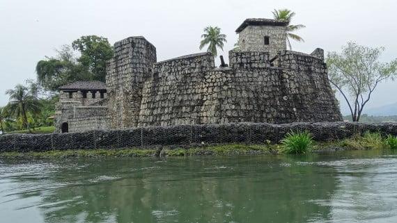 Castillo de San Felipe de Lara, Lago de Izabal, Guatemala