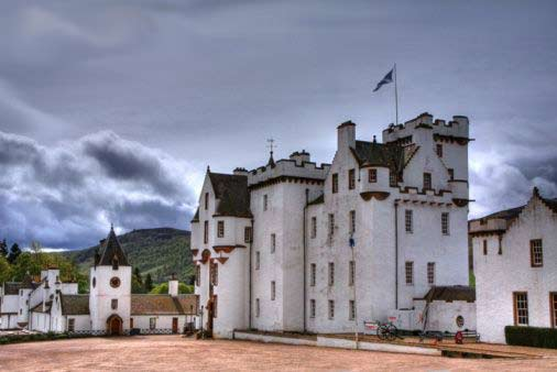 Castillo turistico en Atholl