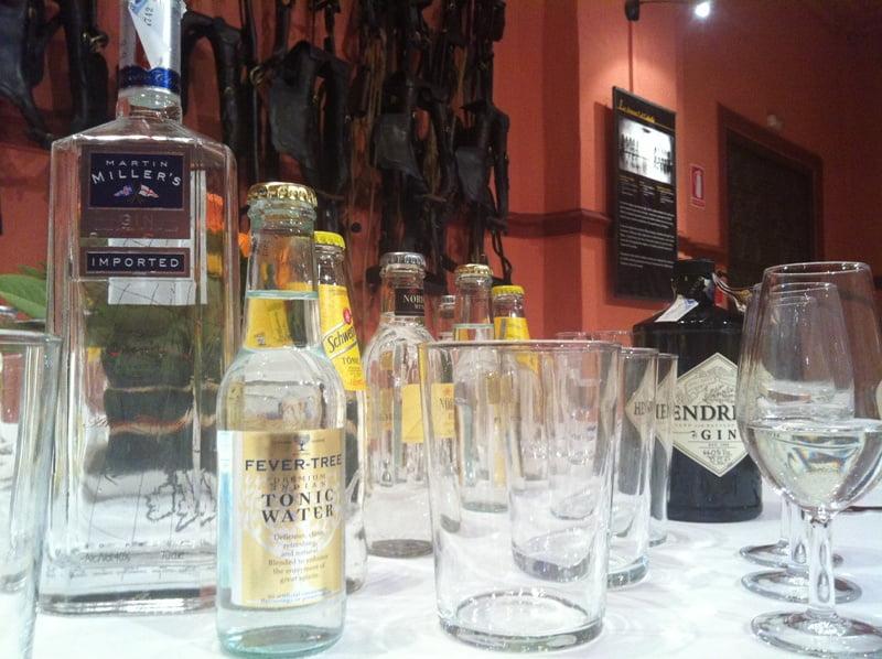 Cata de Gin Tonic en Madrid