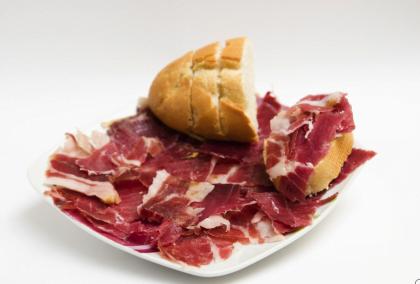 Cata de jamón ibérico de España