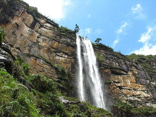Catarata de Gotca en Amazonas