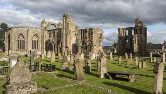 Catedral de Elgin, Escocia