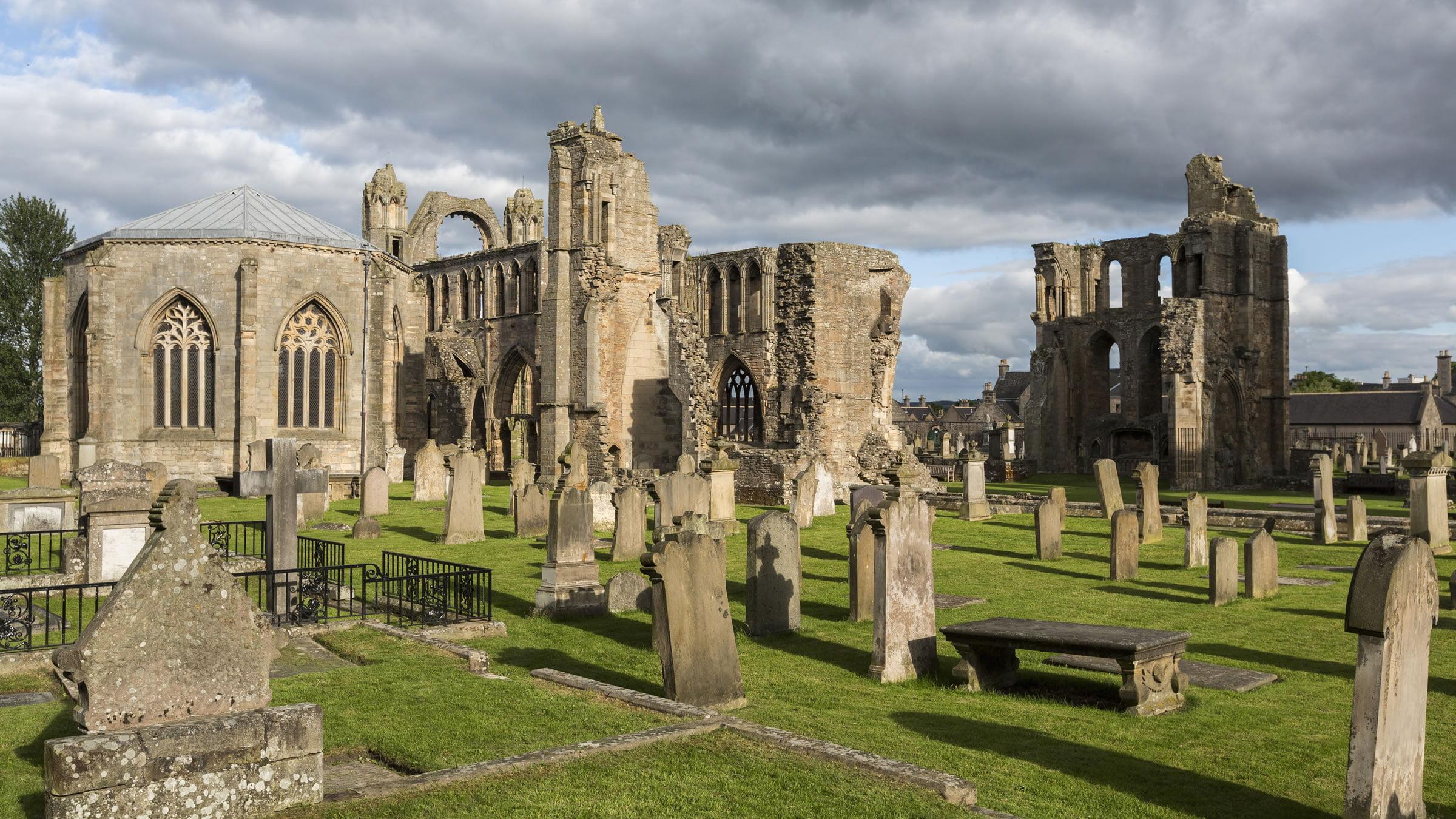 Catedral de elgin escocia for Oficina turismo edimburgo
