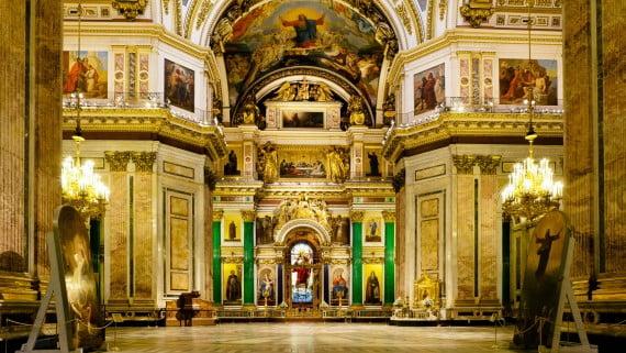 聖以撒大教堂,俄羅斯聖彼得堡