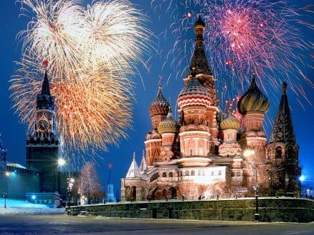 Celebraciones navideñas en Rusia