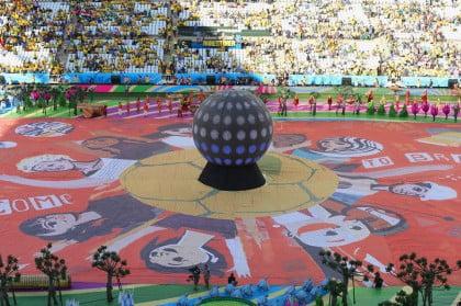 Ceremonia de Inauguración en Sao Paulo