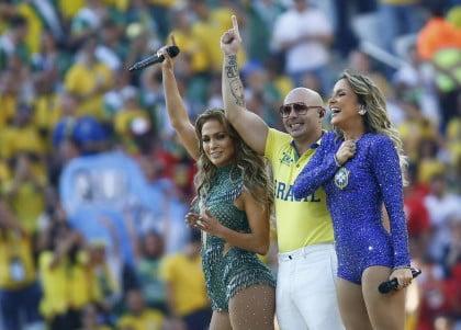 Ceremonia de Inauguración mundial Brasil 2014