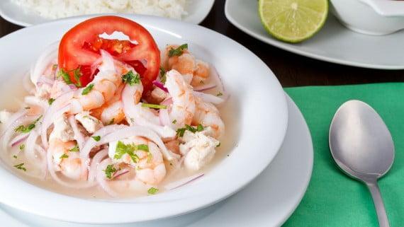 Εκουαδόρ γαρίδες ceviche