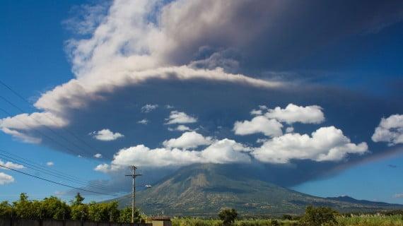 Chaparrastique o volcán de San Miguel