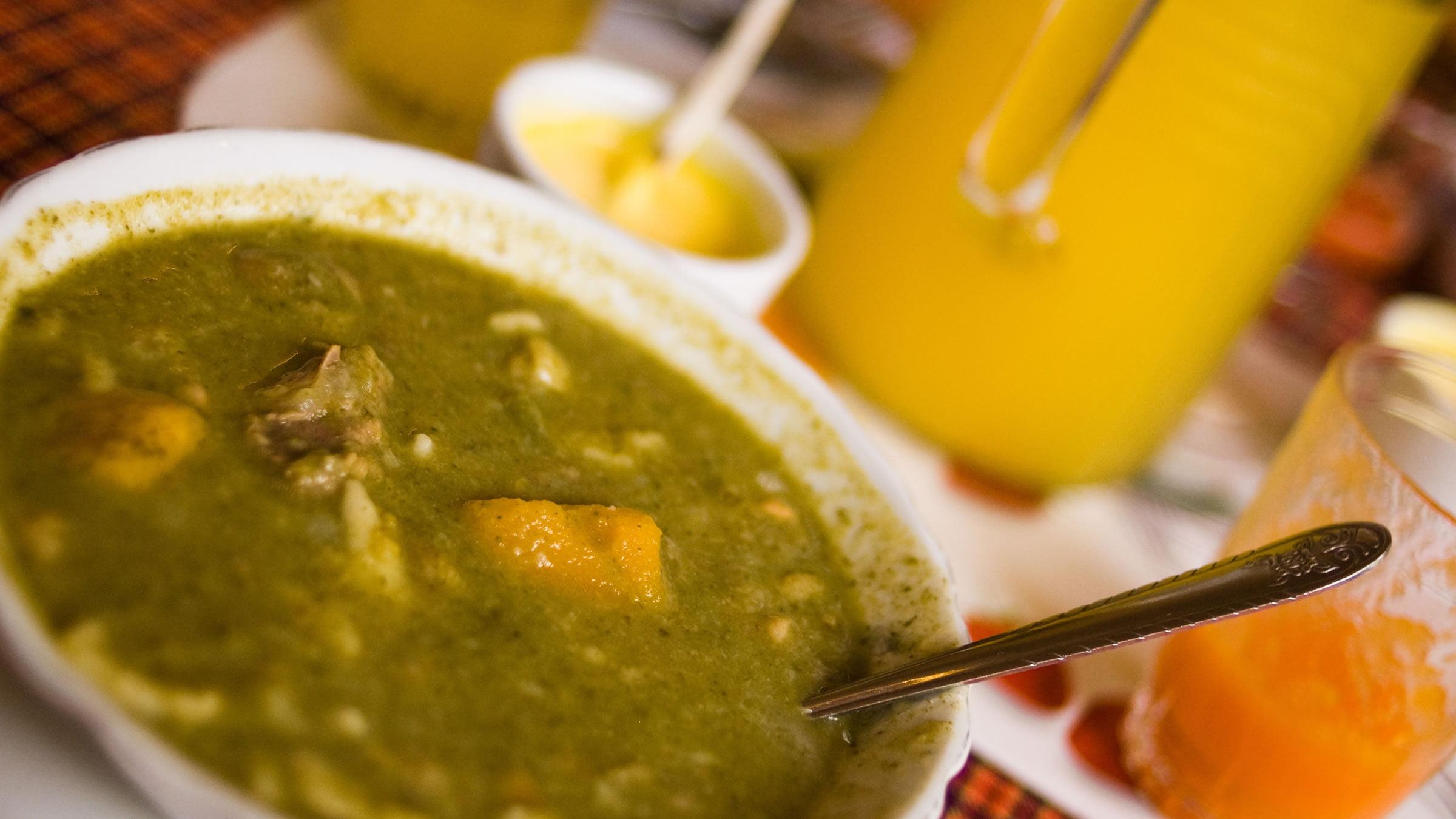 Chupe verde o yaccochupe