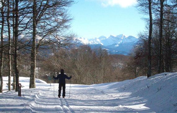 Circuitos de esquí de fondo de Navarra