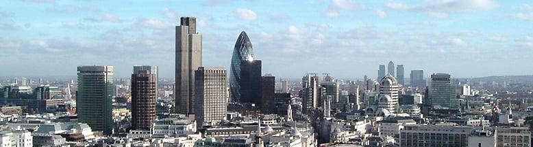 Skyline de la City de Londres