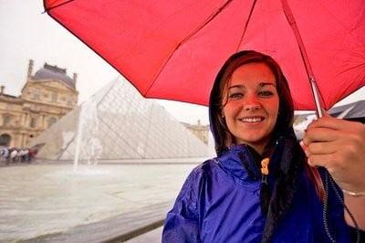 Clima lleve paraguas