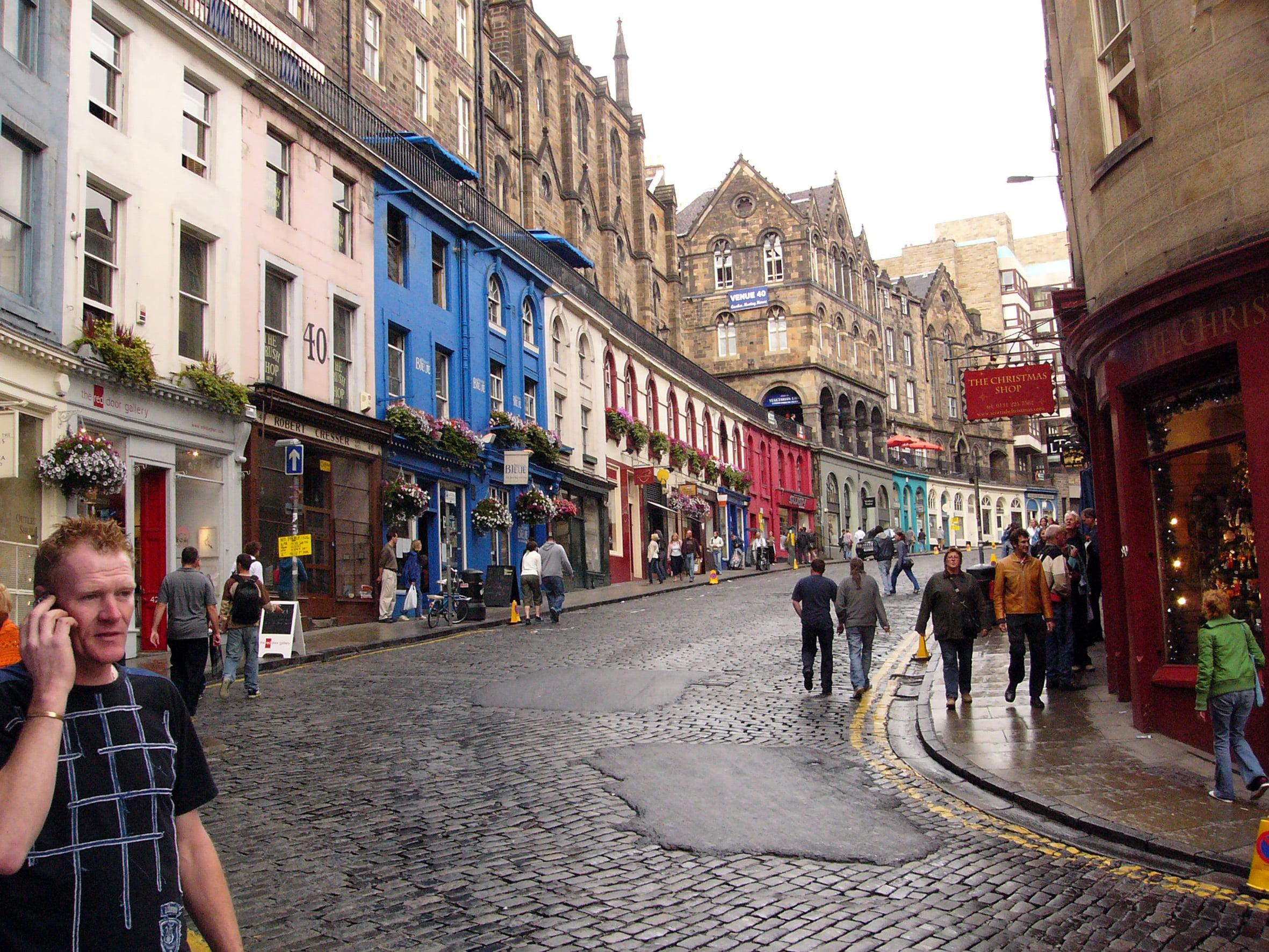 Clima templado Edimburgo