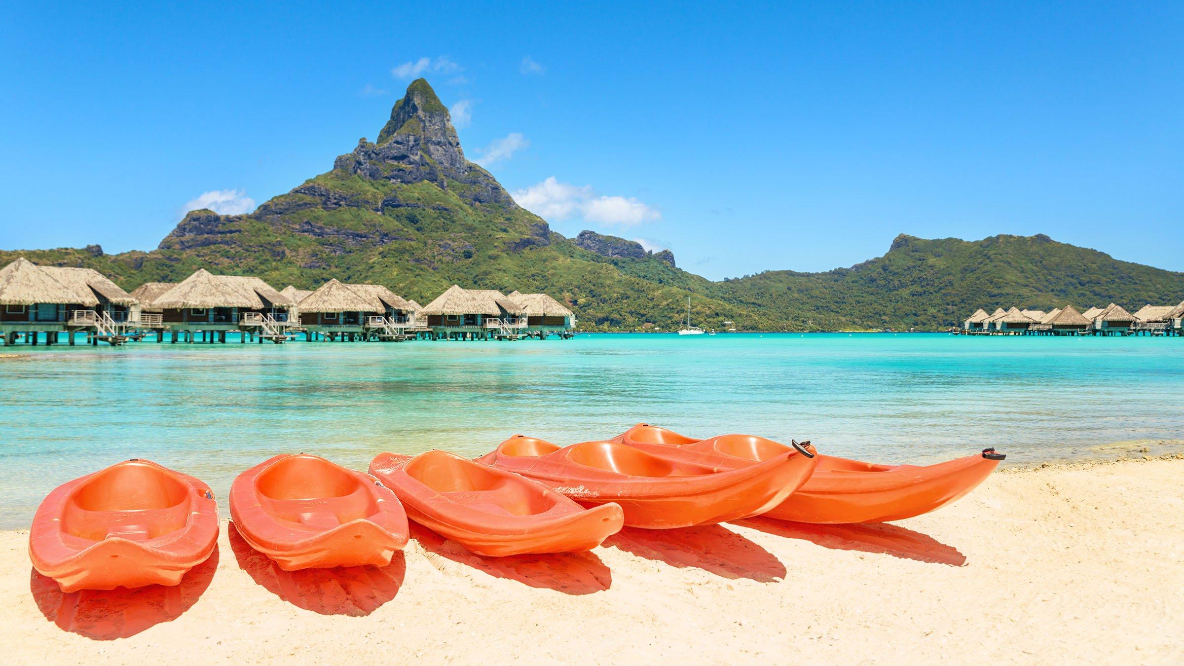 Clima tropical en Tahiti