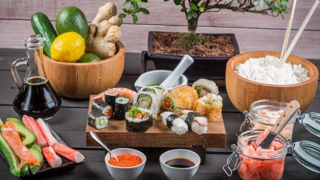 Cociña máis saudable do mundo: dieta xaponesa