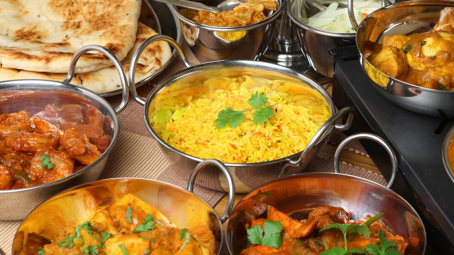 Comida india Cuisines of india