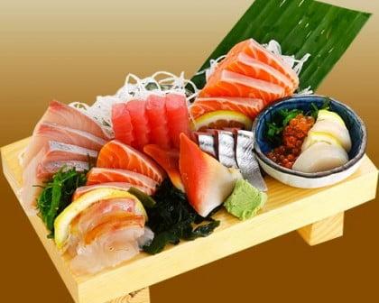 Comida japonesa Sashimi