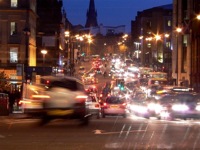 Como llegar transporte Edimburgo