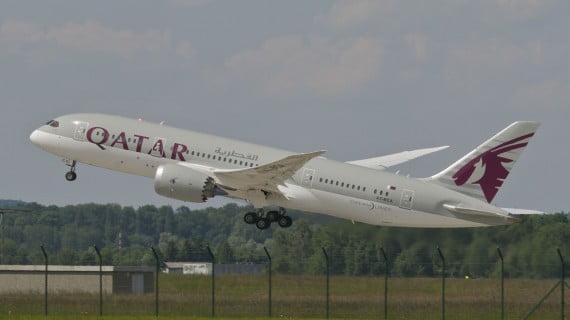 Compañía aérea Qatar Airways