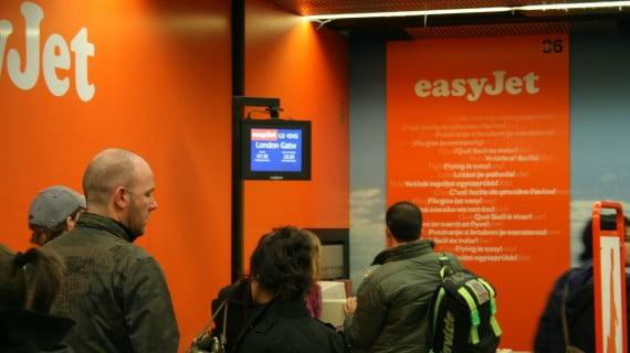 Compañías aéreas de baixo custo: easyJet