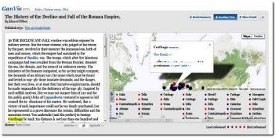 Conocer la historia con Google Anciente Places
