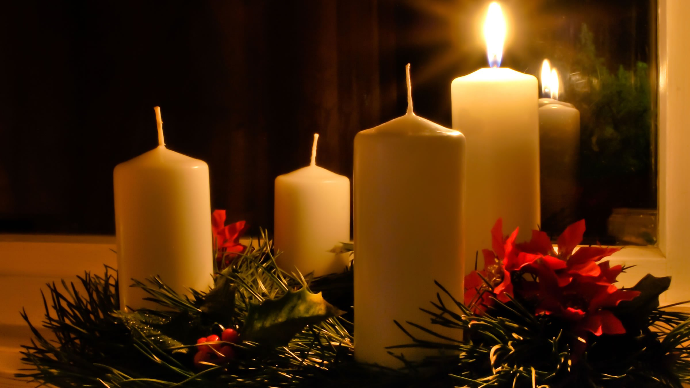 Christmas Eve Candles