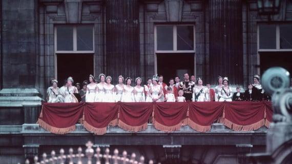 Coronación de la Reina Elizabeth II en 1953