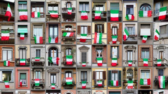 Costumbres de la comunidad italiana