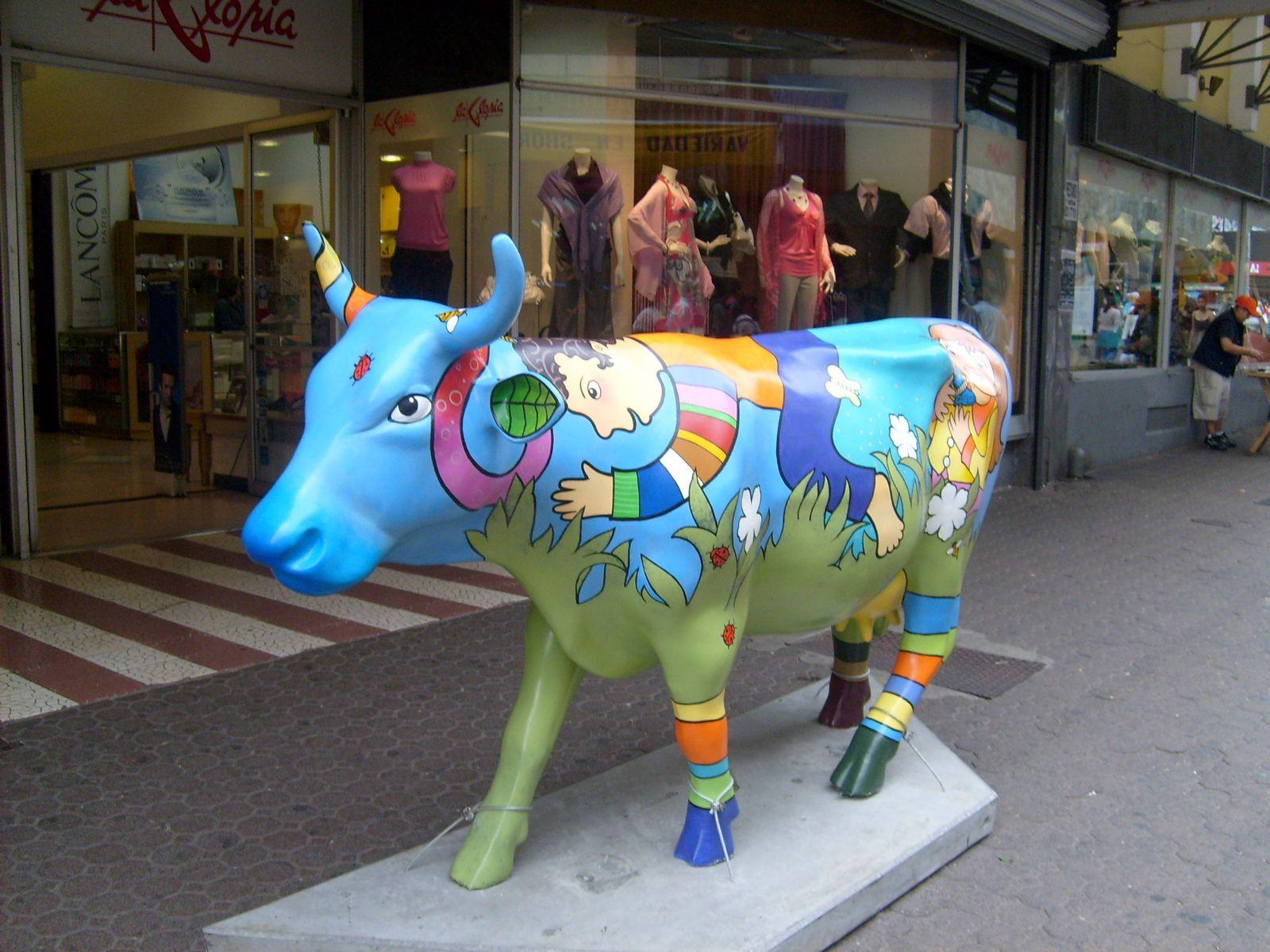 Cow Parade en San José