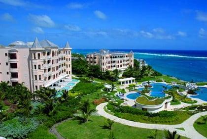 Crane Beach en Barbados
