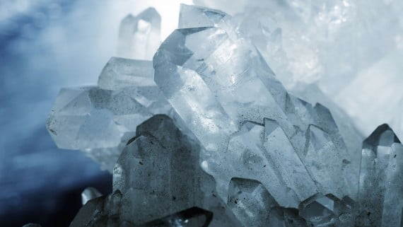 O cristal de rocha, a variedade máis demandada de cuarzo