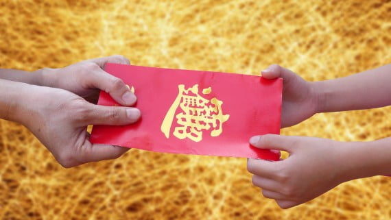 Giving and receiving gifts with two hands in Chinese culture