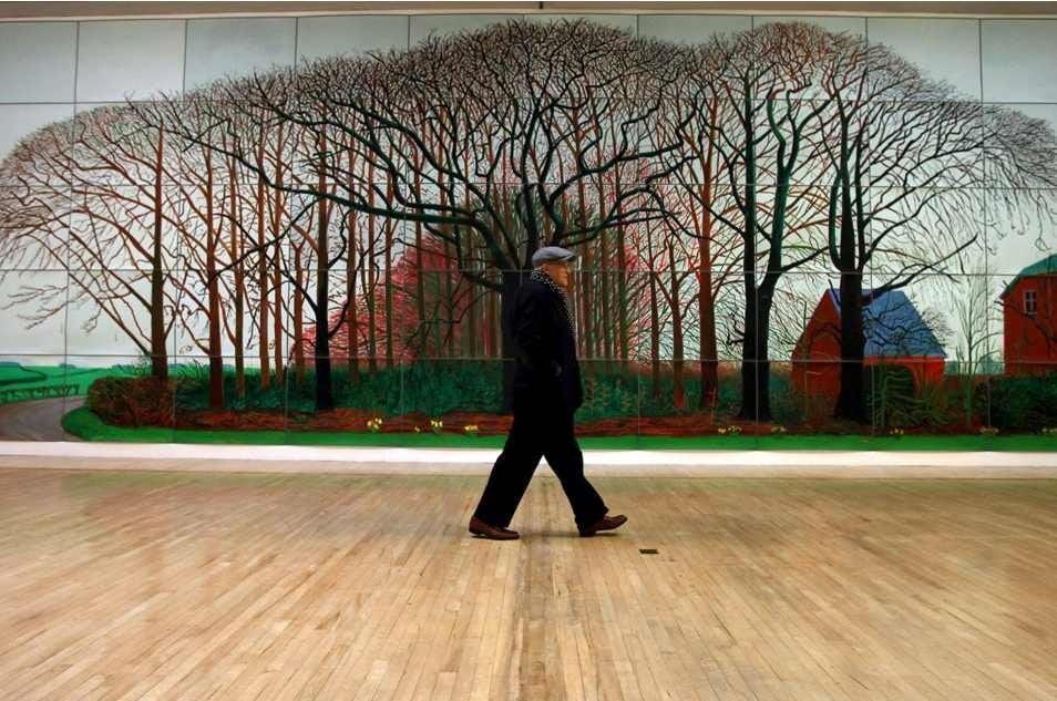 Hockney en Tate Britain
