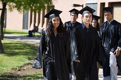 De Erasmus en Manchester  graduados