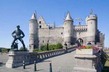 De turismo en Amberes