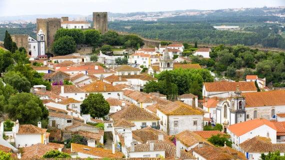 De viaje por la aldea medieval de Óbidos (Portugal)