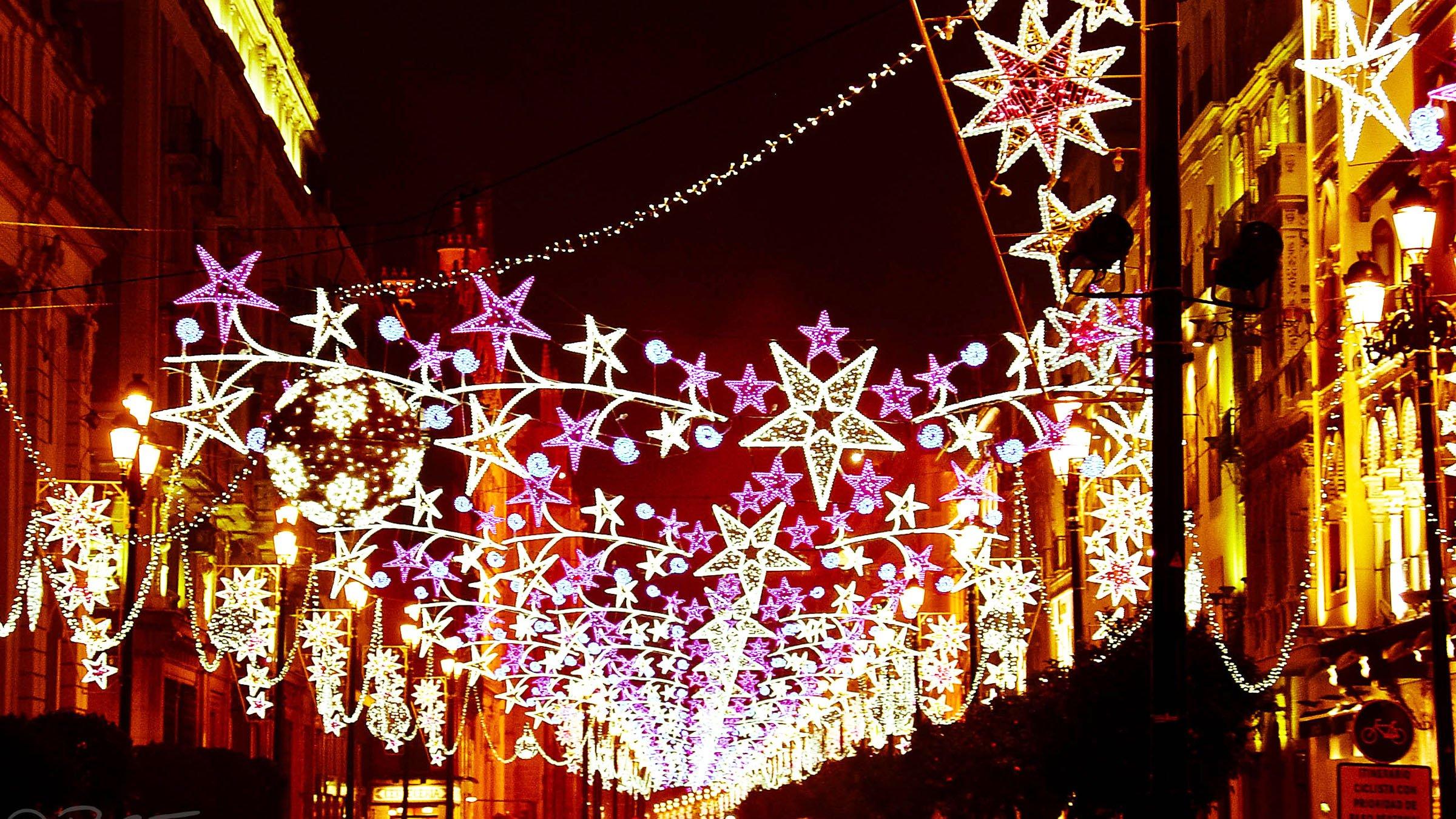 Decoraci n navide a en las calles de sevilla - Costumbres navidenas en alemania ...