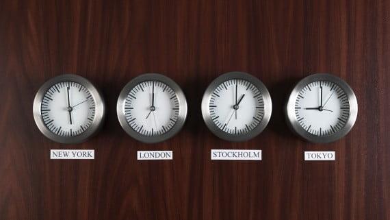Diferencia horaria entre Londres y otros países