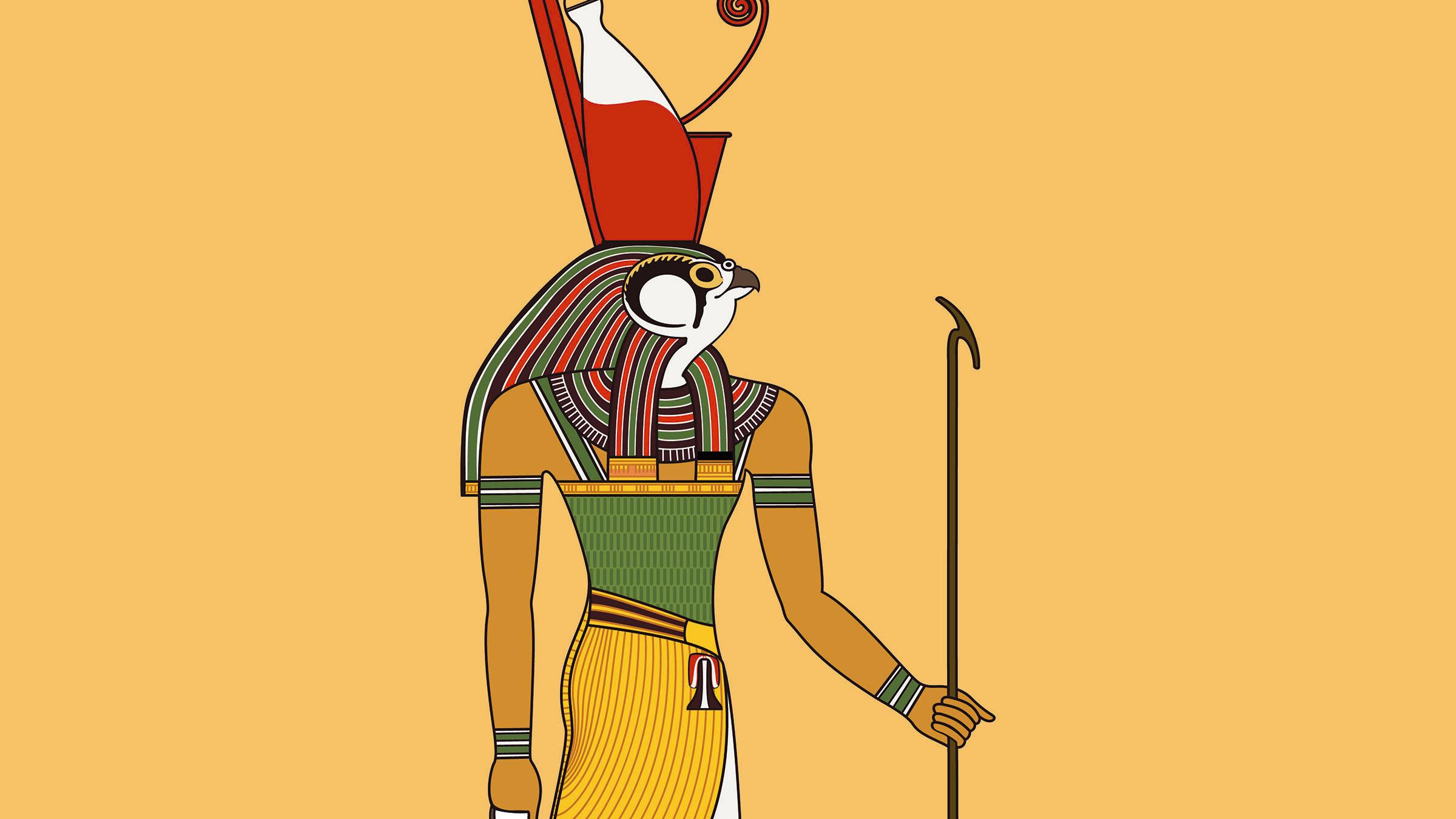Dios Horus, Antiguo Egipto