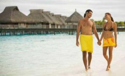 Disfruta las playas de Bora Bora