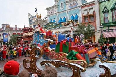 Disneyland París en navidad