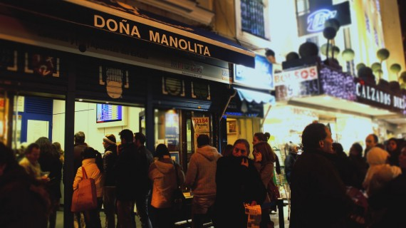 Doña Manolita, η πιο διάσημη διοίκηση στη Μαδρίτη