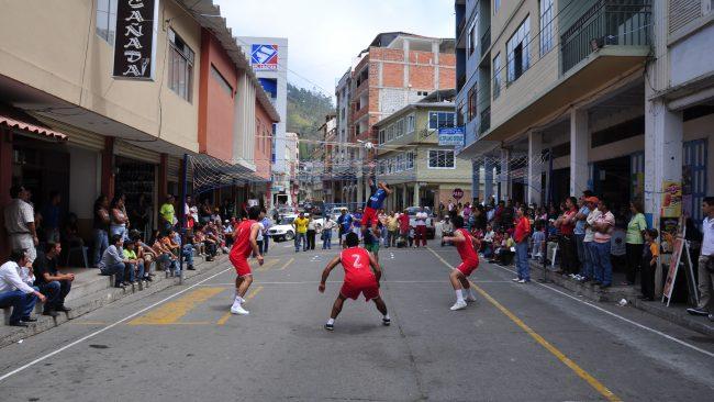 Ecuavóley en Piñas, Ecuador